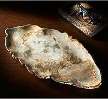 Xyleia Coupelle en bois fossilisé, Nature