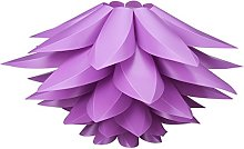 XZANTE DIY Lotus Lampshade IQ PP Plafond Abat-Jour