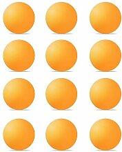 Y-H Lot de 12 balles de ping-pong Orange Taille XL