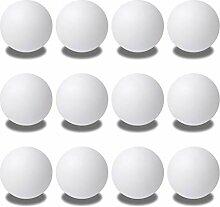 Y-H Lot de 12 balles de tennis de table extra