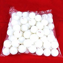 Y-H Lot de 25 balles de tennis de table 3 étoiles