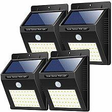Yacikos Lampe Solaire Extérieur [40 LED-4 Pack],