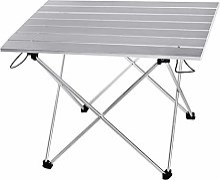 Yaduokj Table Pliable en Alliage d'aluminium