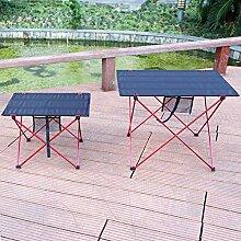 Yaduokj Table Pliable Portable Outdoor Table