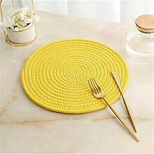 Yaeele Coaster Table Mat Isolation Bowl Pad doux