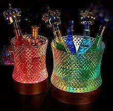 Yaeele La bucket_Bar glace illuminée, seau à