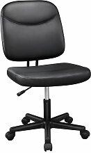 Yaheetech Chaise Bureau à roulettes Fauteuil de