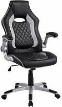 Yaheetech fauteuil gamer ergonomique chaise bureau