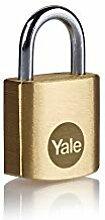 Yale Y110B/25/113/1 - Cadenas Boron en laiton 25