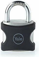 Yale YE3/32/116/1/BK - Cadenas Aluminium 32 mm, 3