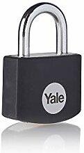 Yale YE3B/25/112/1/BK - Cadenas aluminium 25 mm,