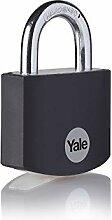 Yale YE3B/38/119/1/BK - Cadenas aluminium 38 mm,