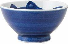 Yamani Pottery Bol japonais en céramique Mino