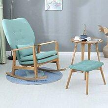 YANGGUANG Chaise à Bascule, Confortable Relax