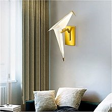 YANJ Applique Nordic Gold Bird Applique Salon