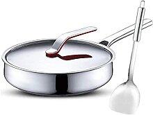 YANRUI Wok Cuisine en acier inoxydable Cook