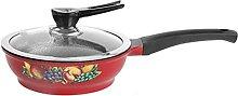 YANRUI Wok Pot de cuisine multifonctionnelle Pot