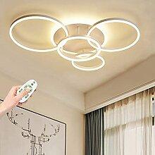 yanzz Plafonnier LED en Aluminium Cercle Créatif