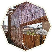 YAO TIAN Stores de Bambou Aucune Forage, Rideau