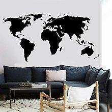 yaofale Grande Carte du Monde Stickers Muraux