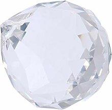 Yardwe 2 Pièces Boule de Cristal Prisme Clair