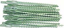 Yardwe 30 Pièces Réglable Jardin Twist Cravates