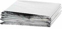Yardwe 5 Pcs Couvertures en Aluminium Durgence Au