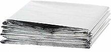 Yardwe 6 Pcs Couvertures en Aluminium Durgence Au