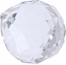 Yardwe Boule de Cristal Prisme Clair Cristal Boule