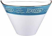 Yardwe en Céramique Japonais Ramen Bol Grand Bol