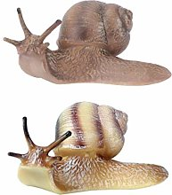 YARNOW 2 Pièces Escargot Animaux Décor De Jardin