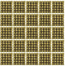 YARNOW 25 Pièces Laine De Roche Croître Cubes