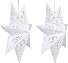 YARNOW Papier Étoiles Abat- Jour Abat- Jour De