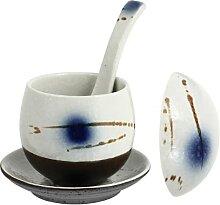 YARNOW Petite Céramique Ragoût Pot avec