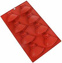 YARNOW Silicone Moule Robe Forme Chocolat Bonbons