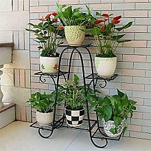 ybaymy Étagère à plantes en métal - 6 étages
