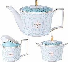 YBK Tech Service à thé en porcelaine au design