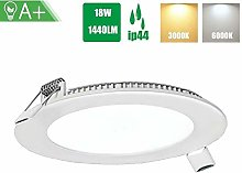 YBright 18W LED ronde Downlight Flat Panel Down