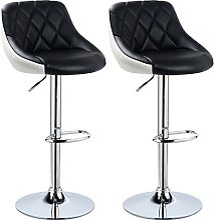 YCHUAN Tabourets de Bar, 2pcs / Set Lounge Chaises