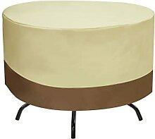 YDHZAHAH Meubles Ronds extérieurs Table et Chaise