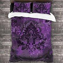 Yearinspace Parure de lit 3 pièces en polyester