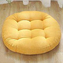 YEARLY Rond Solid Color Galette de Chaise,