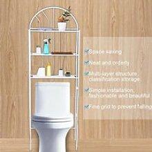 YESMAEFR Etagère de WC salle de bains toilette -