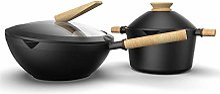 YFQHDD Marmite Domestique antiadhésive à Fond