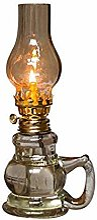 YFYW Lampe à pétrole en Verre Lampe à Huile