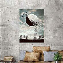 YHJK Imprimer Art Mural Abstrait Affiche Nature