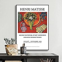 YHJK Tirages Photo Henry Matisse Affiche Moderne