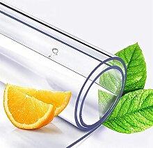 YHNMK Nappe Transparente en PVC écologique,Film