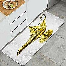 Yhouqukhdeueh Tapis de Cuisine,Lampe Aladdin Magic