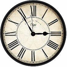 yidenguk Vintage Horloge Murale Rustique,